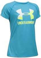 Under Armour Girls' Big Logo Tech Tee - Big Kid