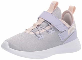 Puma unisex child Throttle Hook and Loop Sneaker