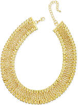 Thalia Sodi Gold-Tone Wide Collar Necklace, Only at Macy's