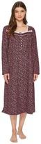 Eileen West Jersey Ballet Long Sleeve Nightgown Women's Pajama