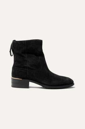 Jimmy Choo Halbert Suede Ankle Boots - Black