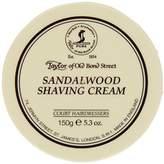 Taylor of Old Bond Street Sandalwood Shaving Cream Bowl, 5.3-Ounce by