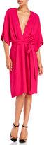 Issa Geri Wrap Front Dress