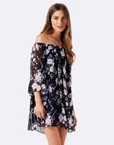 Forever New Floral Off Shoulder Dress
