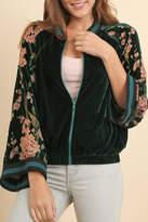 Umgee USA Velvet Oriental Floral