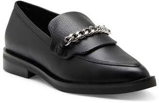 Rebecca Minkoff Pacey Chain Pointed Toe Loafer