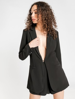 First Muse Remy Fitted Blazer in Black