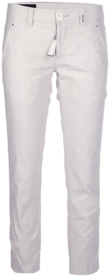 High 'Sum Up' cropped trouser