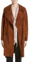 Belstaff Women's Airdale Suede Coat