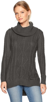 Napa Valley Women's Long Sleeve Cowl Neck Tunic