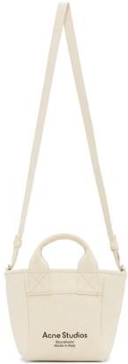 Acne Studios Beige Mini Canvas Bag