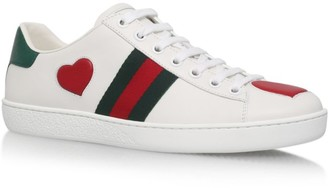 Gucci Heart Ace Sneakers