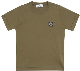 Stone Island Junior Cotton T-shirt