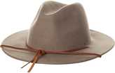 Brixton Field Fedora Hat Brown