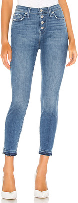 7 For All Mankind The High Waist Ankle Skinny. - size 28 (also