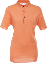 Victoria Beckham Wool Polo Top