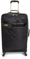 Flight 001 Avionette 26 Inch Rolling Suitcase - Black