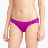 J.Crew Jersey Lomellina® ruched bikini bottom