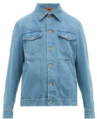 Barena Venezia - Geco Patch Pocket Denim Jacket - Mens - Denim