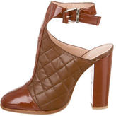 Thakoon Quilted Leather Booties