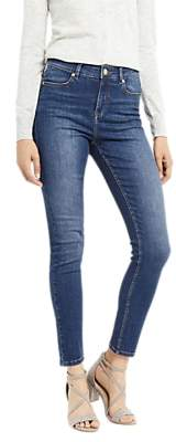 Oasis Lily Ankle Grazer Jeans, Denim