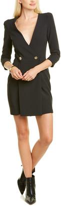 Elisabetta Franchi Double-Breasted Mini Dress