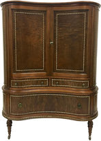 One Kings Lane Vintage 1930s Kidney-Shaped Armoire
