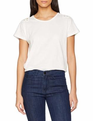 Damart Women's Tee Shirt Dentelle Epaules T