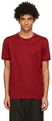 Dolce & Gabbana Red Cotton Jersey T-Shirt