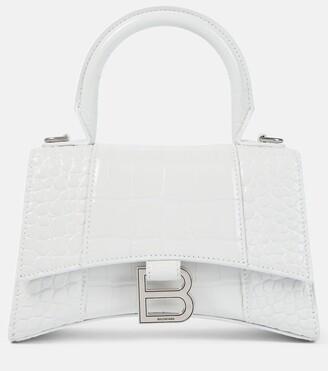 Balenciaga Hourglass XS leather tote