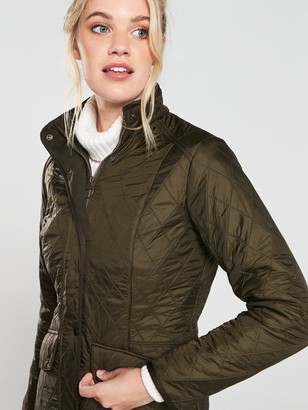 Barbour Cavalry PolarquiltJacket - Olive