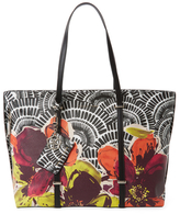Trina Turk Bungalow Floral Easy Large Tote