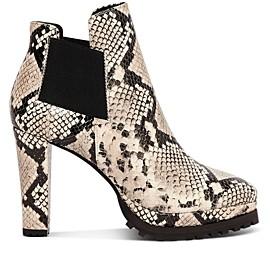 high heel booties canada