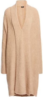 Theory Boucle-knit Merino Wool-blend Cardigan