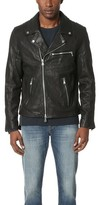 Baldwin Denim Johnny Leather Moto Jacket
