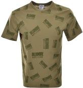 Billionaire Boys Club Repeat Print T Shirt Green