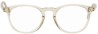 Tom Ford Grey Soft Round Glasses