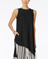 Cable & Gauge Asymmetrical Tunic Top