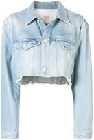 Givenchy Cropped Denim Jacket