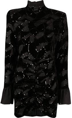 Rotate by Birger Christensen Ida roll neck dress