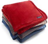 Izod Solid Throw Blanket