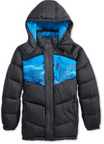 CB Sports Boys' Colorblocked Puffer Jacket