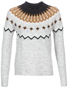 Vero Moda VMTITI women's Sweater in Grey