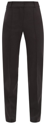 Pallas Paris - Hacker Slim-leg Wool Tuxedo Trousers - Black