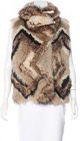 Ralph Lauren Shearling Fur Vest