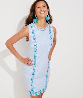 Vineyard Vines Pop Embroidered Shift Dress