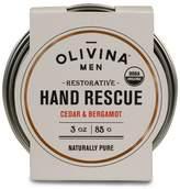 Olivina Men Organic Cedar & Bergamot Hand Rescue - 3 oz