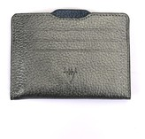 Atelier Hiva Double Card Holder Metallic Anthracite & Metallic Navy Blue