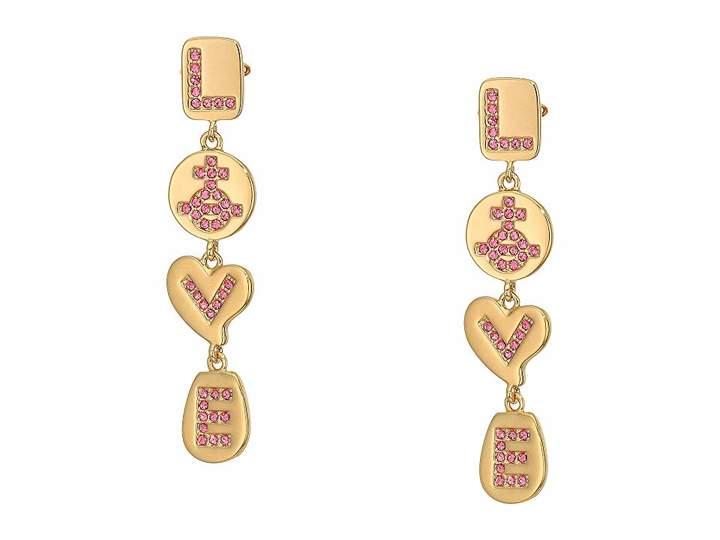 Vivienne Westwood Love Medal Earrings