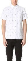 Paul Smith Short Sleeve Parrot Shirt
